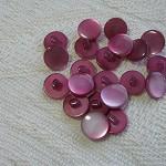 20 deep pink shank buttons