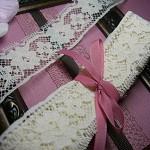Vintage Cream floral lace 2 metres