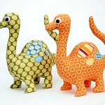 Dinosaur Pattern. Dinosaur Softie PDF Sewing Pattern. Stuffed Dinosaur