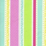 1/2 mtr - Stripe in Multi from Tutti Frutti by Timeless Treasures Fabric