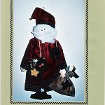SANTA CLAUS or FATHER  CHRISTMAS Pattern by Whiskers and Wings