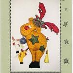 REGGIE and RAMSAY REINDEERS Christmas Pattern by Whiskers and Wings Destash