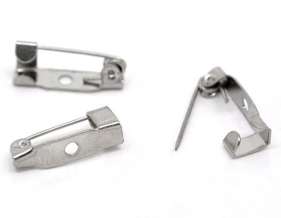10 x Small 16mm Brooch Pins