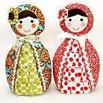 Babushka Doll Pattern. PDF Sewing Pattern. Doorstop, Nursery or Home Decor
