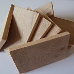 10 x Large wooden rectangles