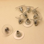 Comfort Earring Backs - 50pcs