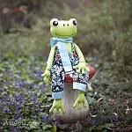 Frog Sewing Pattern PDF Fergus the Frog Softie Stuffed Animal Pattern