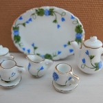 60% OFF! Porcelain Mini Tea Set - Blue Ivy