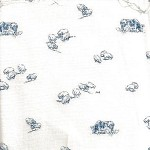 Patchwork - Quilting Fabric - Fat 1/4 - Cows and Sheep on Cream Background