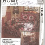 Pattern - McCall's 7164 - Patchwork Quilt & Accessories