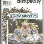 Pattern - Simplicity 9482 - Daisy Kingdom Dolls Clothes