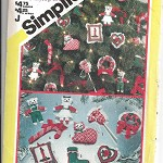 Pattern - Simplicity 6098 - Christmas Decorations