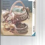 Pattern - McCalls 6037 - Crafty Crochet Fabric Baskets