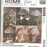 Pattern - McCalls 6559 - Lampshades