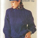 Knitting Book - Patons Overlander 12 Ply