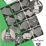 Knitting Book - Paragon Children's Knitting 3 to 5 Yrs.