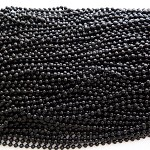 10 x Black ball chains 60cm length