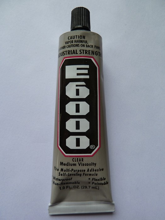 E6000 29.7ml large tube with applicator tip