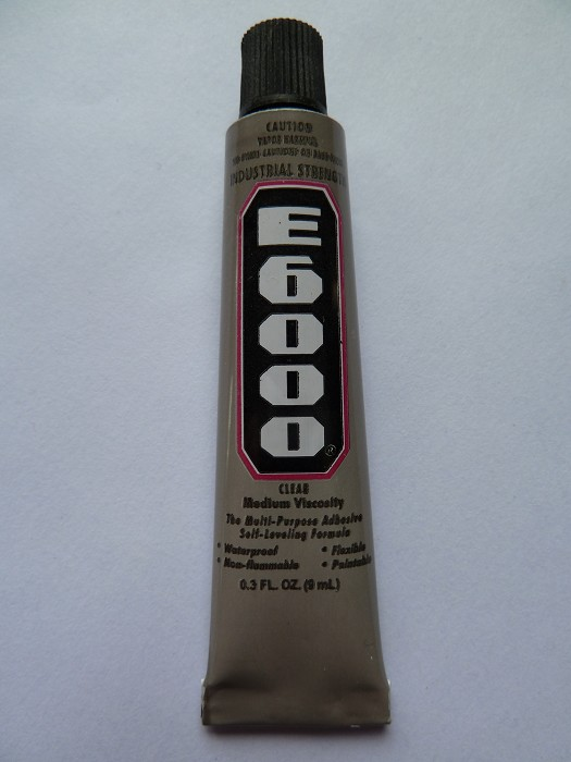 *** SOLD OUT *** E6000 9ml tube with applicator tip