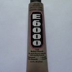 E6000 9ml tube with applicator tip