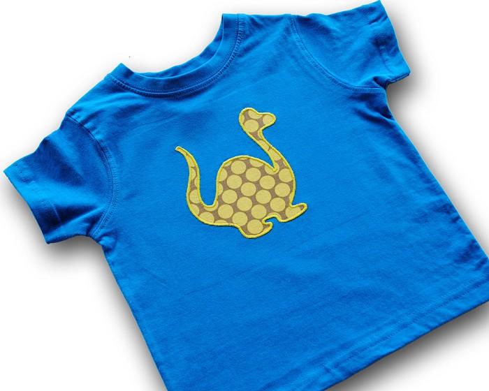Dinosaur applique template animal diy pdf pattern for children