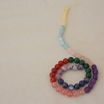 Strand of Assorted Gemstone Beads (40cm) Free Postage Australia wide.