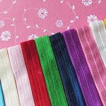 New Colour Range! Soft Elastic Headbands x 10