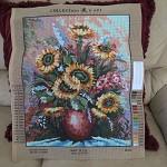 Tapestry - Vase of Sunflowers