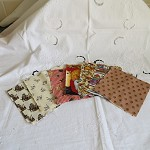Quilting Charm Pack - 18 pieces x 5""