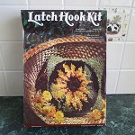 Latch Hook Kit - Sunflower Design