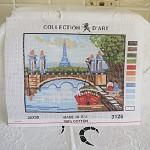 Tapestry - Paris Scene