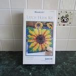 Latch Hook Kit - Sunflower Design