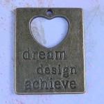 Dream Design Achieve Pendant x 2