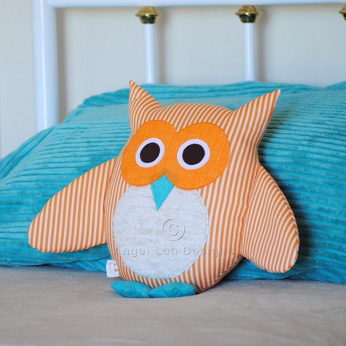 Owl Pattern. Soft Toy Plushie Cushion Nursery or Home Decor. PDF ...