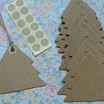 12 Tree Kraft Card Swing Tags
