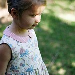 "Peter Pan Collar Dress ""Madeline Dress"" PDF Sewing Pattern for Toddlers & Girls"