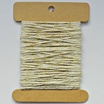10m x 12ply Cotton Twine GOLD & NATURAL