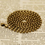 10 Antiqued Bronze Color Ball Chain 2.4mm, 24inch