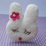 6 Padded Fluffy Easter Bunny/Rabbits Heads