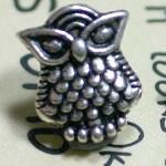 Owl Beads - 10pcs