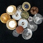 Flash mix of vintage buttons