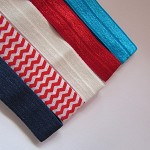 5 Soft Elastic Headbands