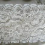 4m x 5cm elastic lace white  colour