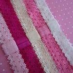 Soft Lace Interchangeable Elastic Headbands x 5 Colours