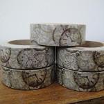 Washi Tape - Vintage Clocks