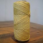 Full Roll 62.5 Metres Hemp Cord - Rustic Yellow