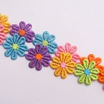 3 Daisy Chain Headbands