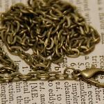 10 Necklaces , Antique Bronze Brass Color High Quality Necklaces,