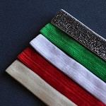 5 Christmas Mix Elastic Headbands