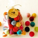 Felt Balls x50 Mixed Colours. 2cm. Wool. Colourful. Multicoloured. Bulk.